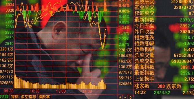Çin borsalarında 8 yılın en kötü günü