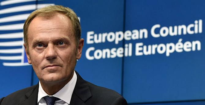 Tusk: Kıbrıs'ta destek vermeye hazırız