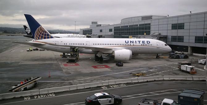 United Airlines'ın tüm uçuşları iptal edildi