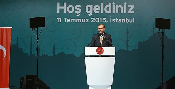 Gül ve Erdoğan iftarda buluştu