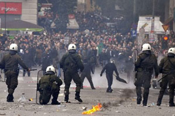 Göstericilere ateş açıldı