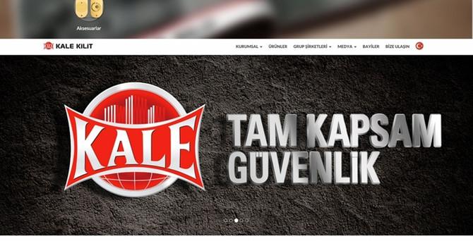 Kale Kilit'in internet sitesi yenilendi