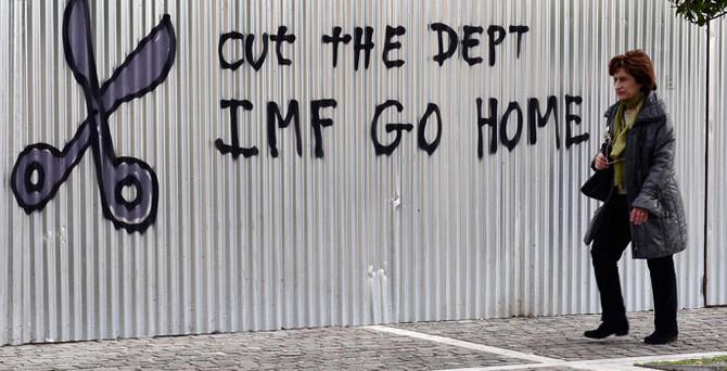 Yunanistan, IMF borcunu ödemedi