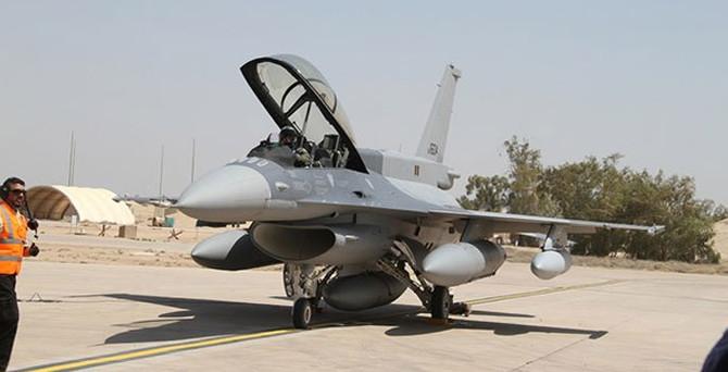 F-16'ları IŞİD'e karşı kullanacak