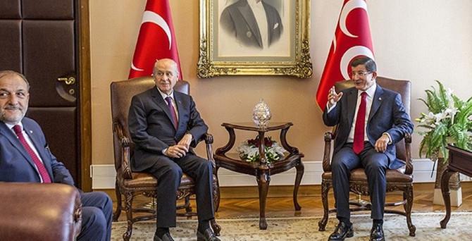 AK Parti ile MHP heyeti görüştü