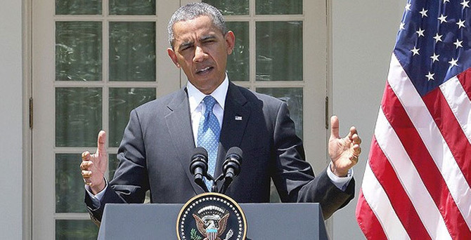 Obama'dan 'Suriye' açıklaması