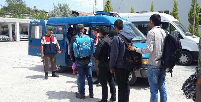 Çanakkale'de 1041 kaçak yakalandı