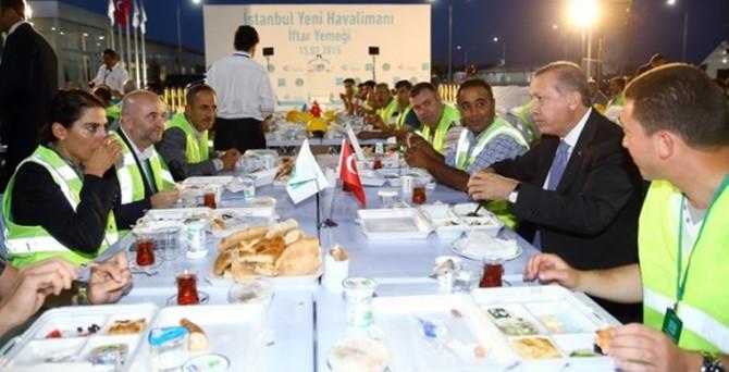 Erdoğan'dan havalimanı işçilerine müjde