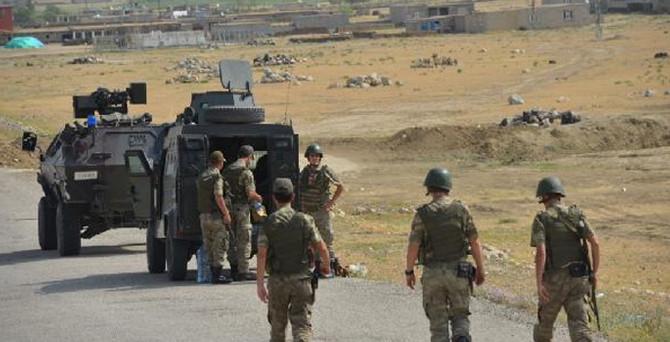 Ağrı'da PKK'lılarla çatışma
