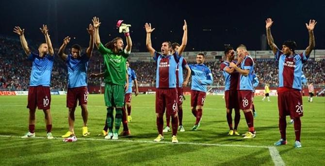 Trabzonspor ilk maçta galip