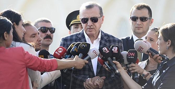 Erdoğan: Mutabakatın yeri parlamentodur