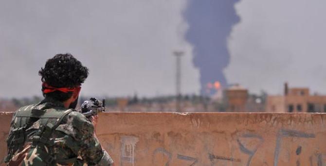 Esad güçleri Türkmen köyüne saldırdı