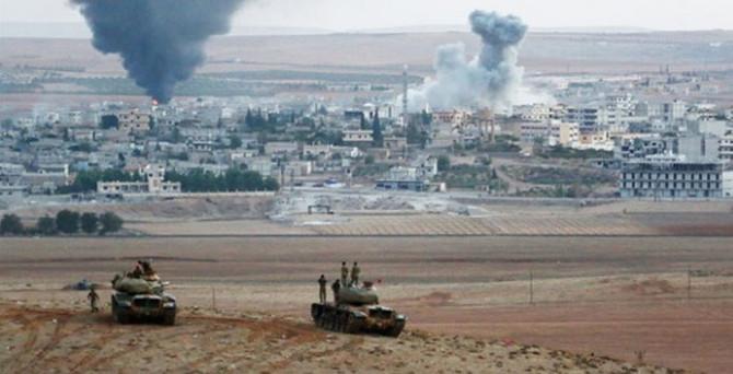 Kobani merkezde patlama