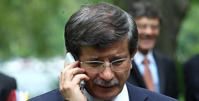 Liderlerden Davutoğlu'na taziye telefonu
