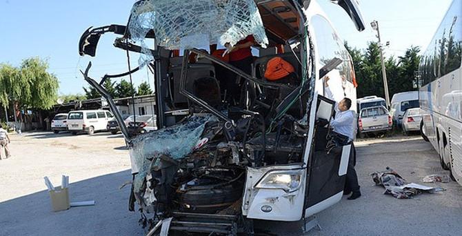 Ankara'da trafik kazası: 36 yaralı