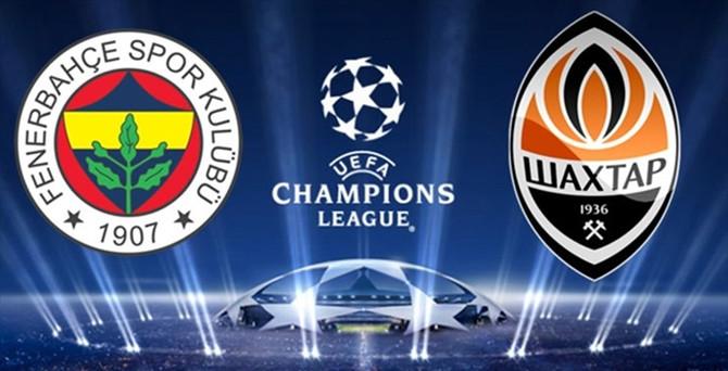 Fenerbahçe'nin Shakhtar Donetsk maçı kadrosu açıklandı