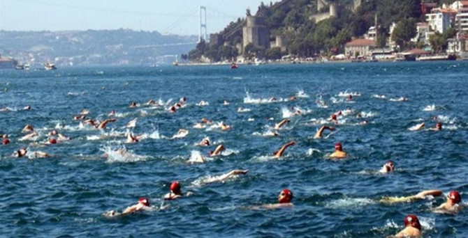 Boğaziçi kıtalararası yüzme yarışı pazar günü