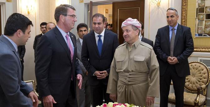 İlk kez Kürt yönetimini ziyaret etti