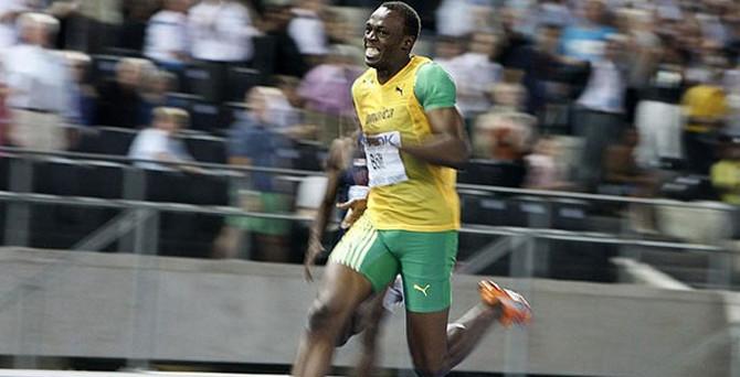 Bolt yine rüzgar gibi esti