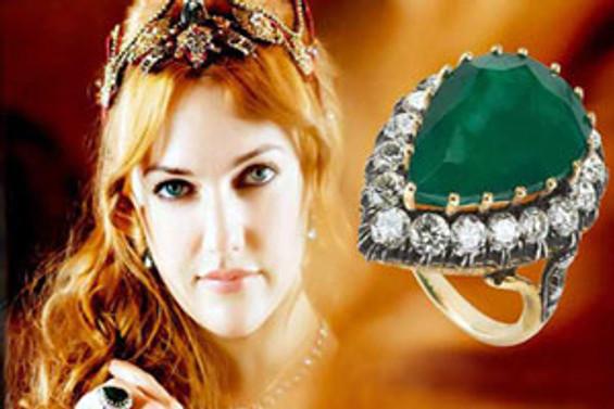 Hürrem'in yüzüğü esnafa yaradı