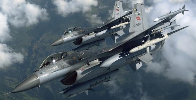 30 F-16 ile operasyon