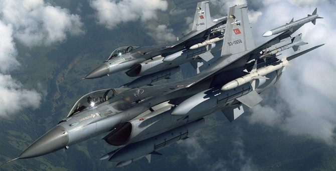 12 noktaya hava operasyonu