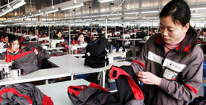 Çin'in tekstil ihracatı yılın ilk yarısında düştü