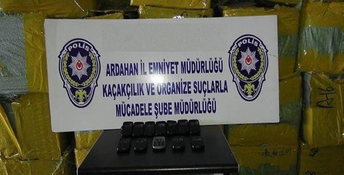 Ardahan'da 25 bin kaçak telefon ele geçirildi