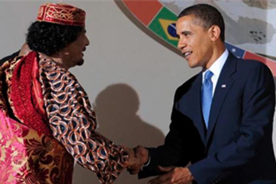 Kaddafi'den Obama'ya mesaj var