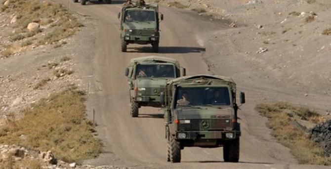 Askeri konvoya bombalı pusu: 3 yaralı