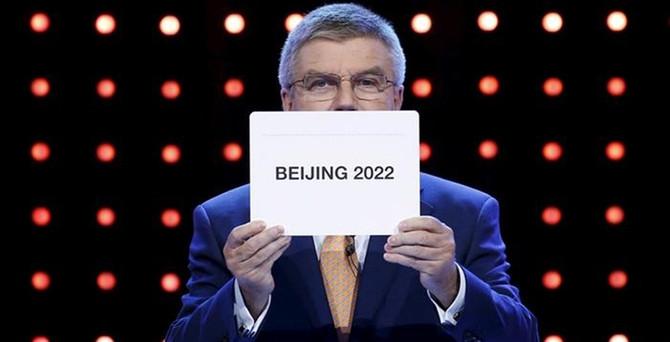 2022 Kış Olimpiyatları Pekin'de düzenlenecek