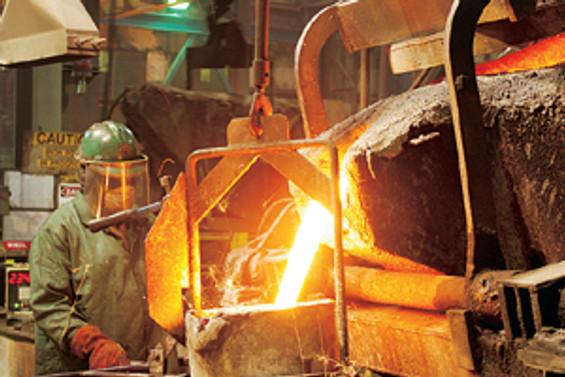 Türkiye çelik üretiminde fark attı