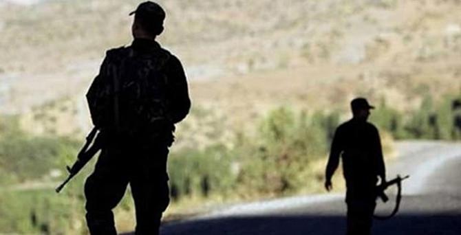 Şırnak'ta 2 askerden haber alınamıyor