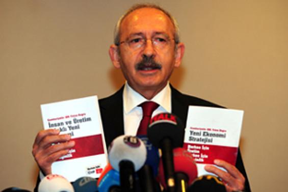 Kılıçdaroğlu, köşe yazarlarıyla buluştu