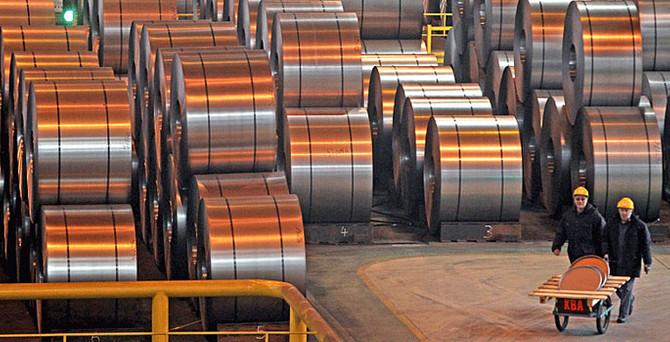 Çelik ihracatı 2015'te azaldı