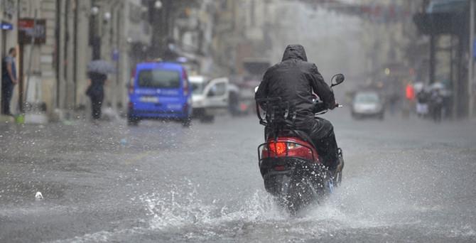 İstanbul'da sağanak yağışa dikkat!