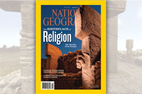 National Geographic'te Göbeklitepe var