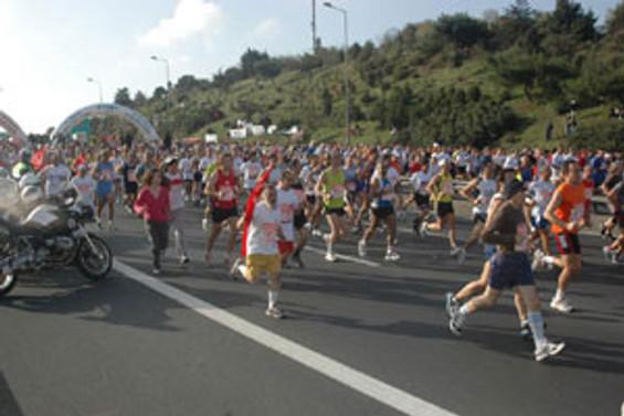 Avrasya Maratonu koşuluyor