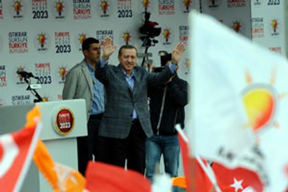 Erdoğan Muş'ta BDP'ye yüklendi