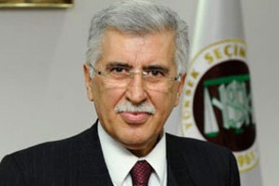 YSK Başkanvekili istifa etti