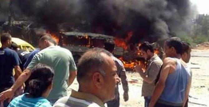 Esad'ın kalbine bomba: 7 ölü 40 yaralı