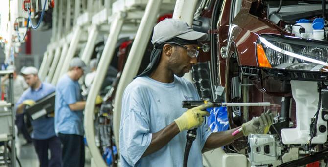 ABD'de imalat sanayinde daralma