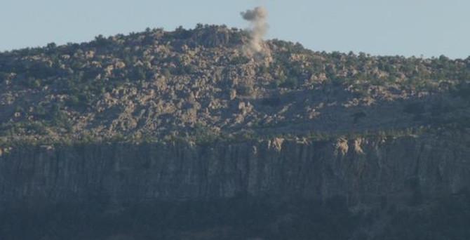 Şemdinli'de 2 askeri birliğe saldırı