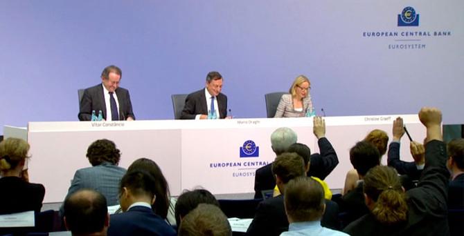 ECB, 3 yıllık tahminlerini düşürdü