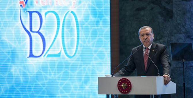 Erdoğan: Güvenli liman Türkiye'nin kapısı yatırımcılara açık