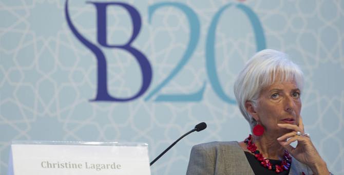 Lagarde: Mülteci sorunu herkesin sorumluluğu