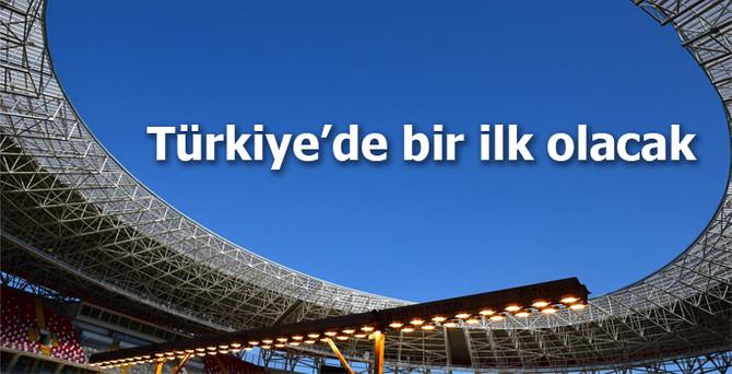 Türkiye'nin güneş enerjili ilk stadı açılıyor