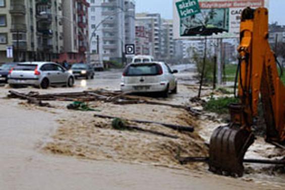 Samsun'da şiddetli yağış