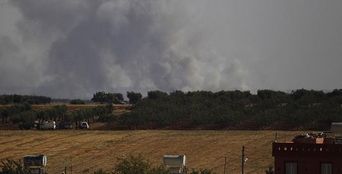 IŞİD'e operasyon: 21 hedef vuruldu