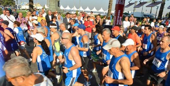 İzmir'de 9 Eylül maratonu koşuldu